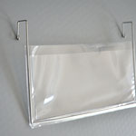 1109 - Drahtbügeltasche DIN Lang ohne Klappe, kurze Bügel nach hinten