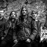 Burial Vault Promo 2015 (from left to right Tobias Schaub, Richard Kaiser, Raimund Ennenga, Immo Groeneveld, David Speckmann)