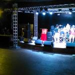 22.11.2014 Die Bühne an diesem Abend.