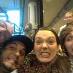15.11.2014 In Amsterdam angekommen...gleich nach Rom und Dann...BRASILIEN !!!
