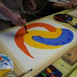 Intuitives Malen m it Acrylfarben
