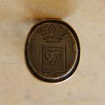 cachet  sceau en or 18 éme siècle