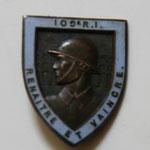 109 régiment. infanterie dos lis, pastille Arthus Bertrand rue de Rennes . prix 50 euros
