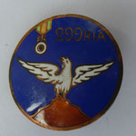 insigne 299 regiment infanterie alpine.  dos lis sans fabricant .prix:  60 euros