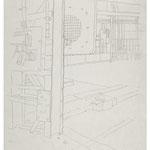 2013, Fredenhagen III, Bleistift auf Papier, 30 x 40 cm