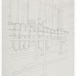 2013, Fredenhagen IV, Bleistift auf Papier, 30 x 40 cm