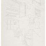 2013, Fredenhagen VI, Bleistift auf Papier, 30 x 40 cm
