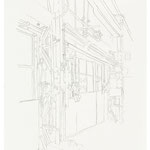 2013, Fredenhagen II, Bleistift auf Papier, 30 x 40 cm