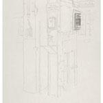 2013, Fredenhagen VII, Bleistift auf Papier, 30 x 40 cm