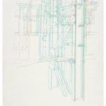 2013, Fredenhagen VIII, Bleistift auf Papier, 30 x 40 cm