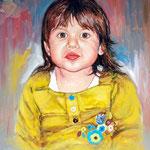 2009, Julka ,olej na płótnie, 40 x 50 cm.