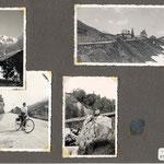 la Masure et le col du Petit-St-Bernard (avant le recul de la frontière d'après 1945)