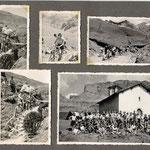 le Cormet de Roselend et la descente par Roselend (la chapelle d'avant le barrage)