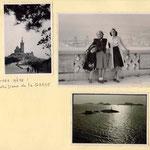 Notre-Dame de la Garde; l'archipel du Frioul et le château d'If