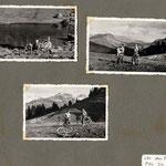 en rentrant du lac des Fées par le col du Pré
