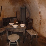 Der Aufenthaltsraum für die Festungssoldaten
