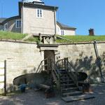 Der Eingang zu Festung