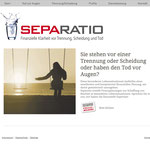 Separatio Homepage