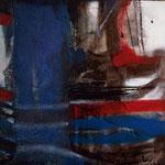 Something, tecnica mista su tela, 30 X 30 cm, 2007.