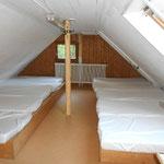 Matratzenlager OG für 10 Personen