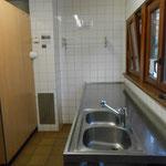 Spülküche mit Industriespülmaschine