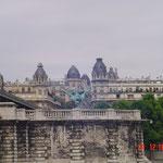 Wohnhäuser an der Seine