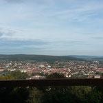 Aussicht unterhalb vom Turm