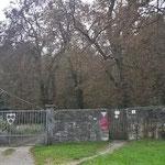 Eingang am Jagdschloss
