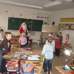 in der Klasse 1 wurde kontrolliert, ob alle Kinder artig waren