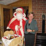 der Weihnachtsmann war zu Besuch