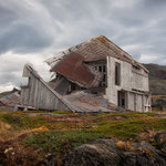 The old Blubberhouse at Hebron, Labrador