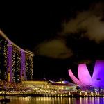 Singapur, Marina Bay Sands und ArtSience Museum