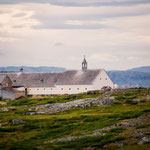 The old Moravian mission house at Hebron, Labrador