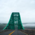 Seal Island Bridge On Nova Scotia's Cape Breton Island