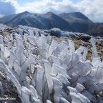 三俣山本峰より(左から中岳・天狗ヶ城・久住山)