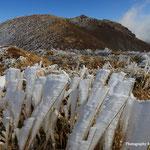 三俣山西峰より三俣山を望む