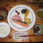 朝食(キレット小屋)