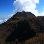 国見岳より平成新山を望む