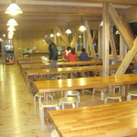 唐松岳頂上山荘食堂