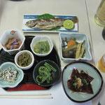 夕食  ※他に石板焼き・山菜の天ぷら・鍋が出てきます。