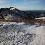 星生山と硫黄山
