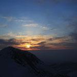 中岳の日の出