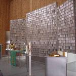 Kreisfahrt 2012 - Erdbücheraltar Eine-Welt-Kirche