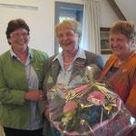 Herzliche Gratulation von Ilsedore Heidmann und Anette Icken