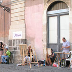 Piazza Pasini in Arte, estemporanea