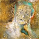 Acrilico e olio su tela cm 30 x 30