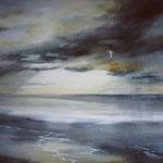"""""""Autunno in laguna"""" acquerello su carta arches cm 67 x 95"""