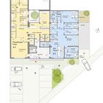 Ärztehaus – Erdgeschoss