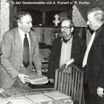 Arnold Zenkert in der Bürgelgedenkstätte