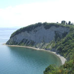 Das Ende des Camino in Slowenien - bei Izola an der Adria.